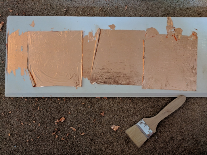 Copper leaf application
