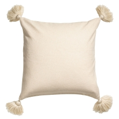 Tasseled cushion cover £8.99