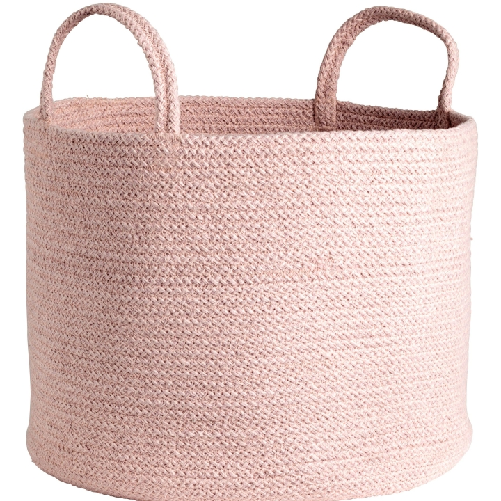 Pink Storage Basket