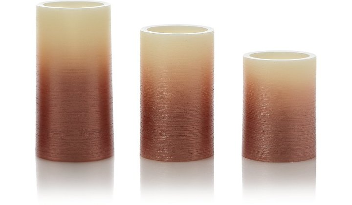 Copper LED Candles
